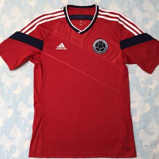 G87250 Camisa adidas Colômbia Away 2014 P Vermelha Fn1608