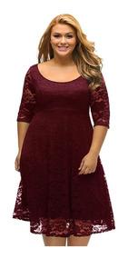 Vestido Renda 12 Plus Size Casamento Madrinha Batizado