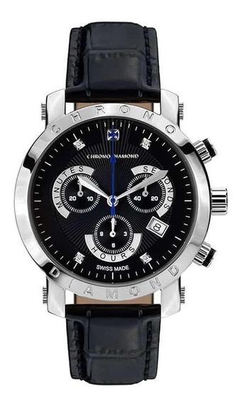 Relógio Suíço De Luxo Com 4 Diamantes Preço De Fabrica