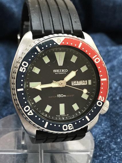 Seiko Automático Pepsi Diver 6309-729a Veja Nossos Relógios