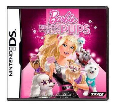 Barbie Groom And Glam Pups Nintendo Ds Seminovo Bh Loja