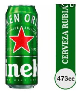 Cerveza Lata Heineken De 473 Off!! Palermo-villa Crespo