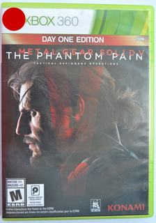 Metal Gear Solid V The Phantom Pain Xbox 360 Infinity Games