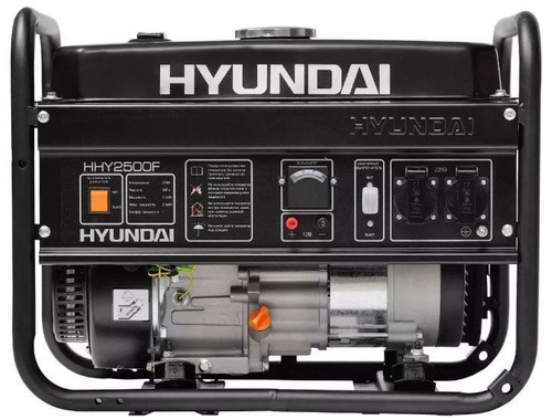 Generador A Nafta 4 Tiempos 2.2kw. Hyundai Hy2200f 5.5hp Kir