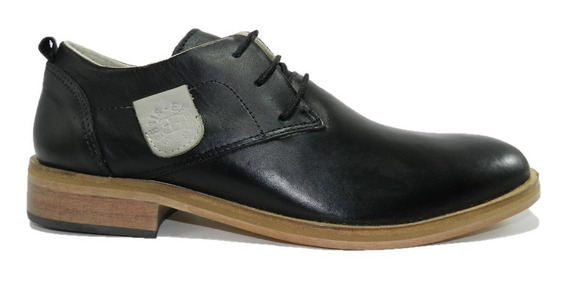 Zapato De Vestir Efesis Cuero 7136