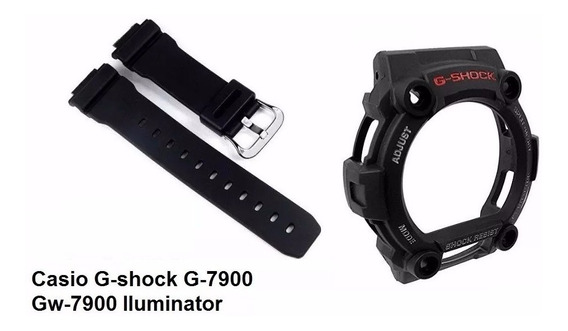 Kit Capa Pulseira Casio G-shock G-7900 Gw-7900