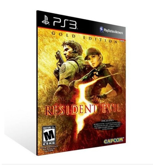 Resident Evil 5 Re5 Ps3 Play 3 Jogo Em Oferta
