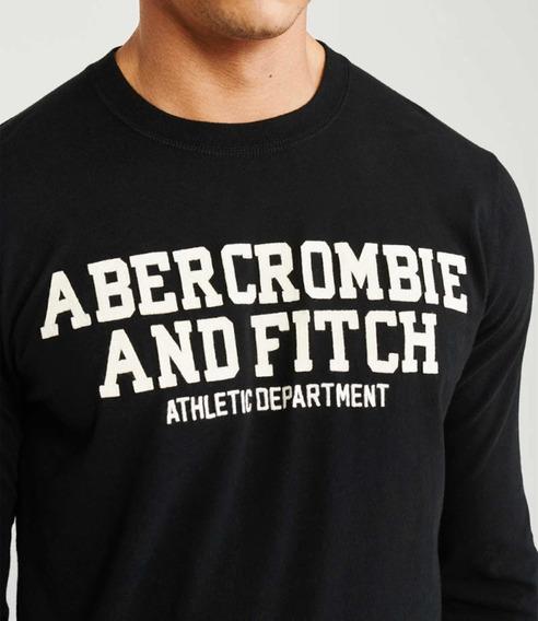 Camiseta De Manga Larga Abercrombie