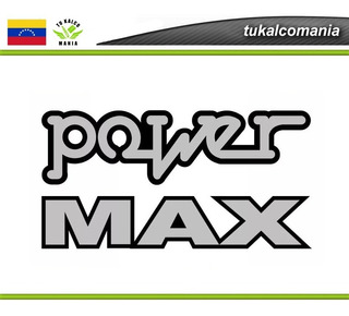 Calcomania Fiesta Power Y Max, Diseño Original