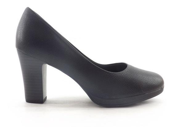 Zapato Picadilly Dama Taco Alto Clasico Comodo Mujer 130185