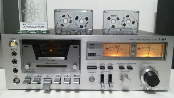 #1 Tape Deck K7 Aiwa Ad-6550 Coleção Revisado Garantia Vídeo