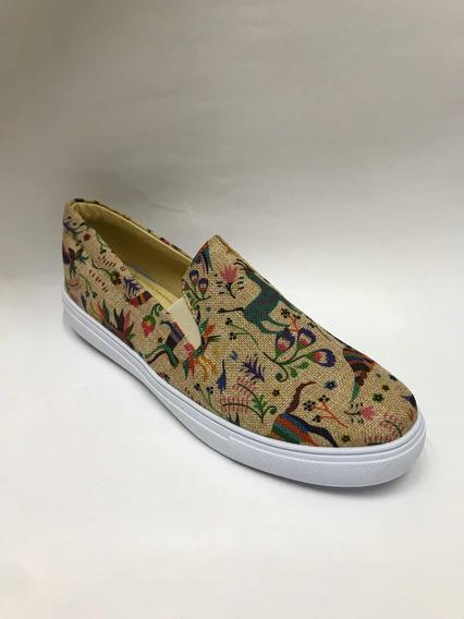 Zapatos Alpargatas Unisex Artesanales Moda Huichol