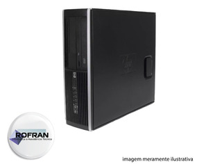 Computador Hp Compaq Core2 Quad Q8300 4gb Ram + Hd 500 Dvdw