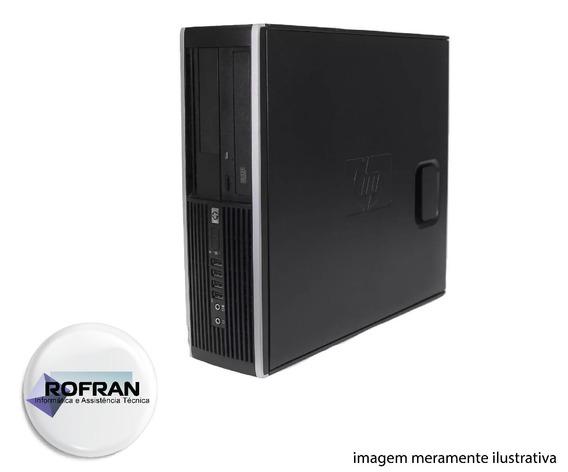 Computador Hp Compaq Core2 Quad Q8300 4gb Ram + Hd 500 Dvdw