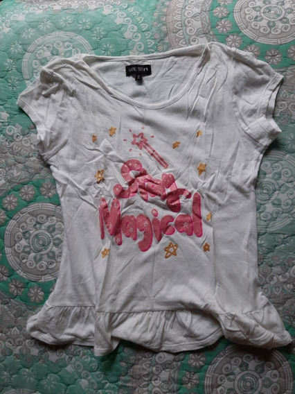 Playera Stay Magical De Niña Hang Ten Talla 8