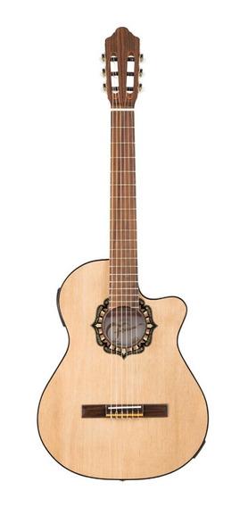 Guitarra Criolla Electroacustica Fonseca 38kec + Funda