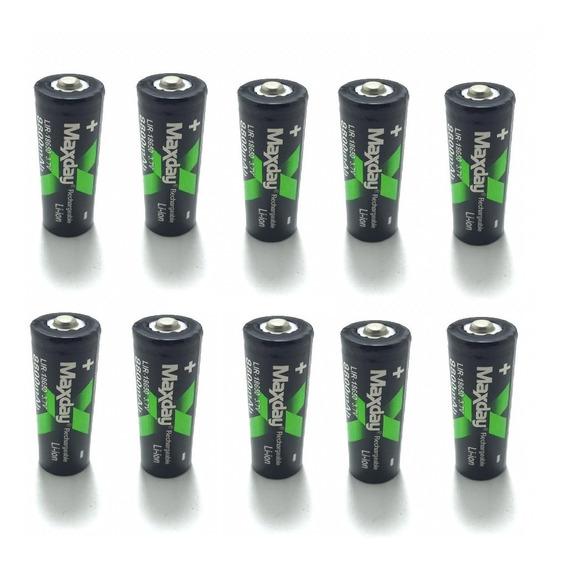 Kit 10 Bateria 18650 Recarregável 3.7v