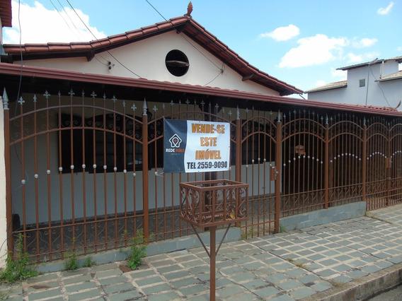 Casa Com 4 Quartos Para Comprar No Conjunto Água Branca Em Contagem/mg - 1359