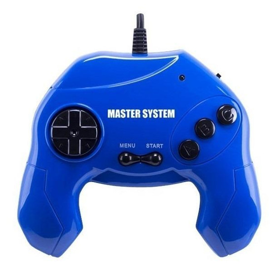 Console Tectoy Sega Master System Plug & Play azul