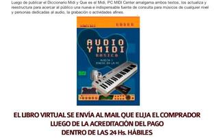 Libro Virtual Audio Y Midi Basico Ideal Principiantes