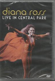 Dvd Diana Ross - Live In Central Park Original Lacrado!!