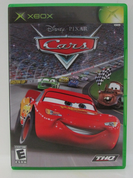 Disney Cars - Xbox Clássico Original Completo Americano