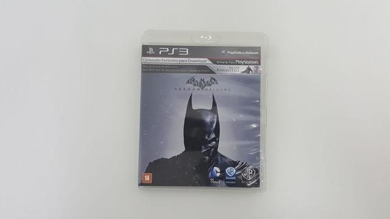 Jogo Batman Arkham Origins - Ps3 - Original
