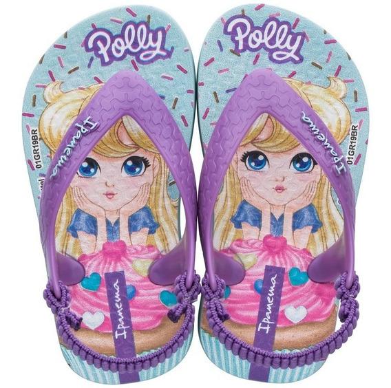 Chinelo Meninas Ipanema Polly Baby Colonelli 26349