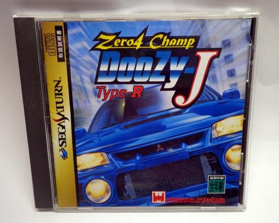 Zero 4 Champ Doozy J Original Sega Saturn Japonês