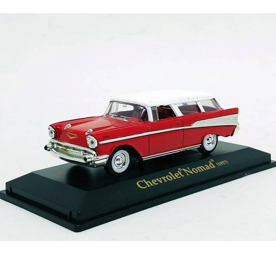 Miniatura De Chevrolet Nomad 1957 1:43 Yat Ming 94203