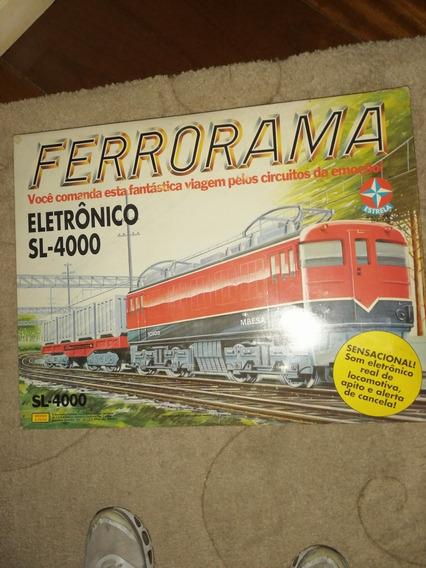 Ferrorama Estrela Sl4000 Completo Em Estado Impecavel
