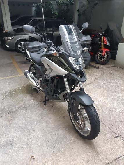Honda Nc 750x 2018 Com 4550km