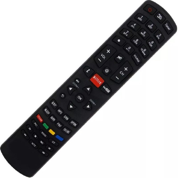 Controle Remoto Para Tv Philco Lcd / Led Rc3100l03/tv Ph39f33dsg/ C01282
