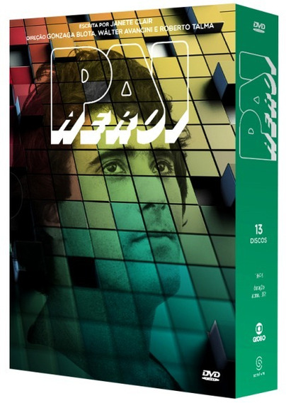 Box Dvd - Novela Pai Herói - 13 Discos - Original