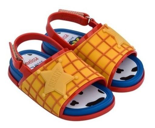 Zapato Mini Melissa Beach Slide + Woody Toy Story