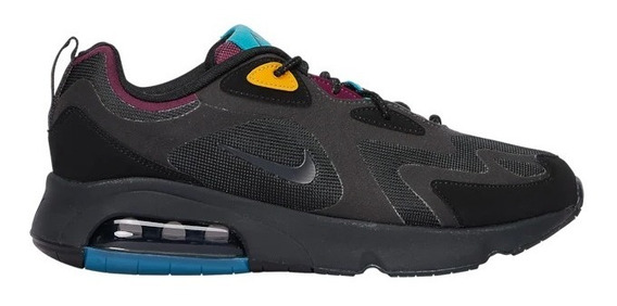Tenis Nike Air Max 200 Casual Shoes Hombre Comodos Flexibles