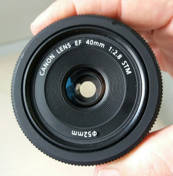 Lente Canon 40mm 2.8