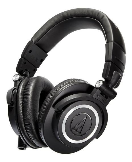 Headphone Fone De Ouvido Profissional Audio-technica Ath-m50