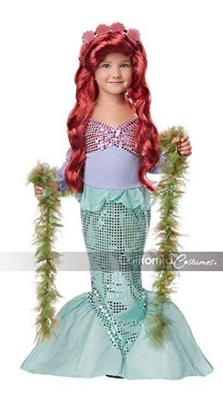 Disfraz Importado Para Niña De La Sirenita
