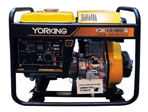 Planta Electrica O Generador Yorking De 5,5 Kw  Motor Diesel
