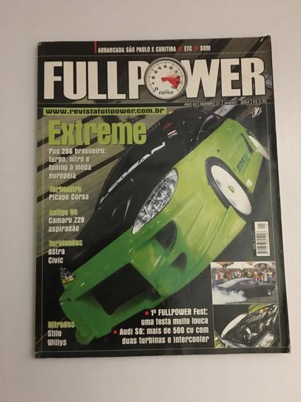 Revista Full Power 21 - Janeiro 2004 Pug Picaé Corsa