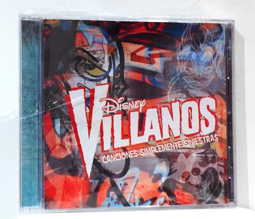 Disney Villanos Cd Musica Nuevo Original Sirenita