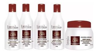 Kit Pós Progressiva Home Care Com 2 Shampoos - Forever Liss