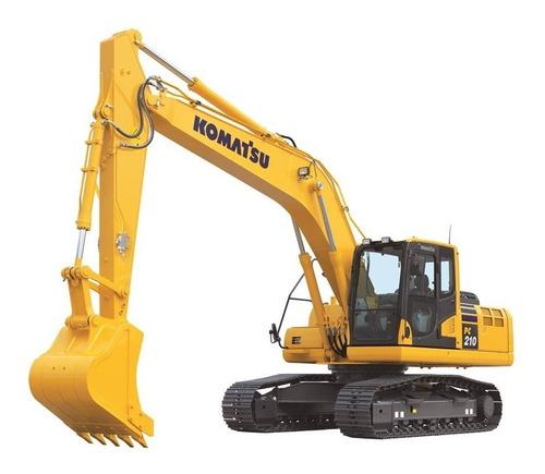 Escavadeira Komatsu Pc 210  2020 - Pronta Entrega