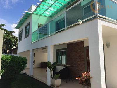Casa Em Alto Padrão No Mirante Da Lagoa - Macae - Ca0188