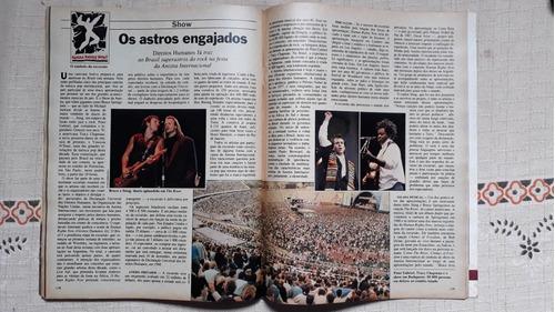 Revista Bruce Springsteen Pinochet Economia Política 1988