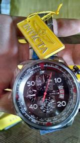 Relógio Invicta 17204 Aviator Importado Dos Eua!