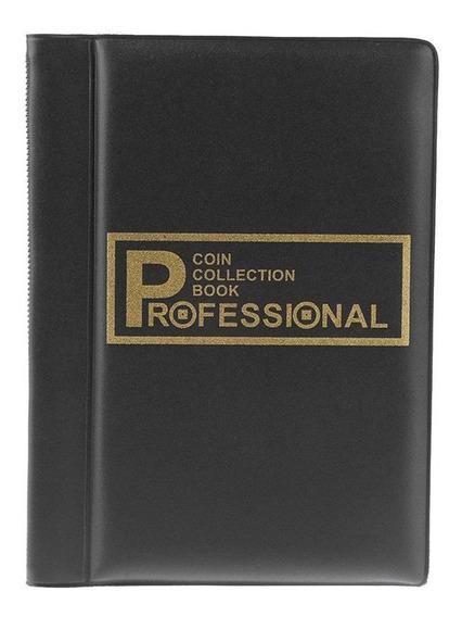 D - 120 Bolsos Moedas Album Collection Book Mini Penny Coin