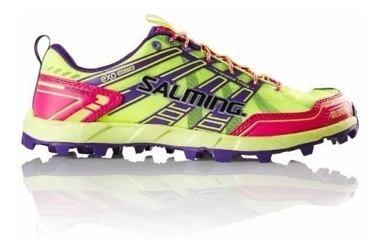 Zapatillas Mujer Salming Trail Running Elements Amarillas