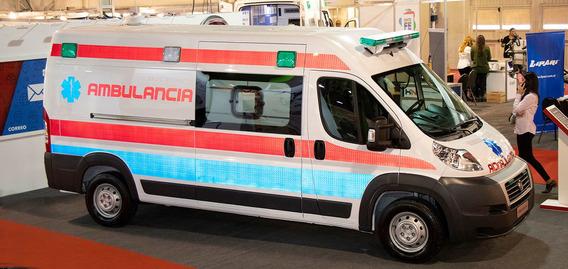 Ducato Ambulancia Diesel Complejidad $46.200 Cuotas 0% A-